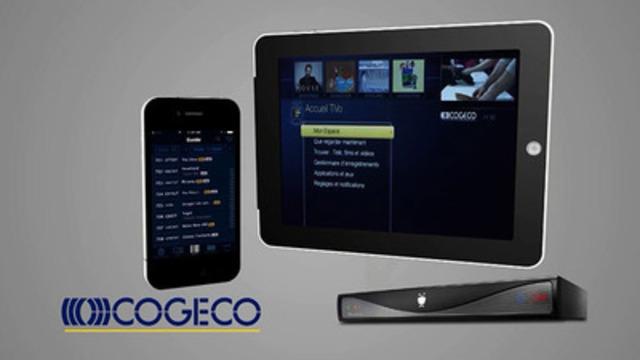 Dévoilement de la toute nouvelle plateforme télévisuelle de Cogeco Câble Canada