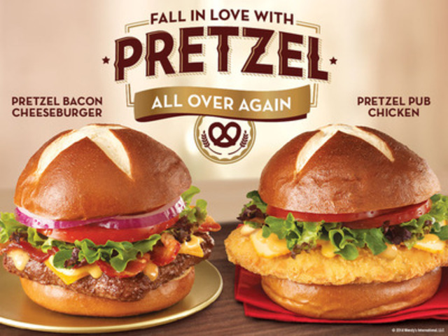 Wendy S Rekindles Pretzel Passion With The Return Of Its Premium Pretzel Bun