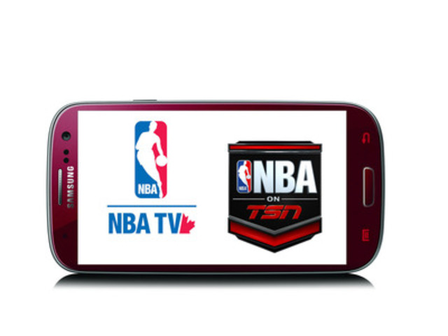 Bell Mobile TV will now carry NBA TV Canada and NBA on TSN. (CNW Group/BELL CANADA)