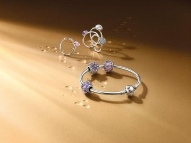 Gouttelettes scintillantes (Groupe CNW/PANDORA Jewellery)