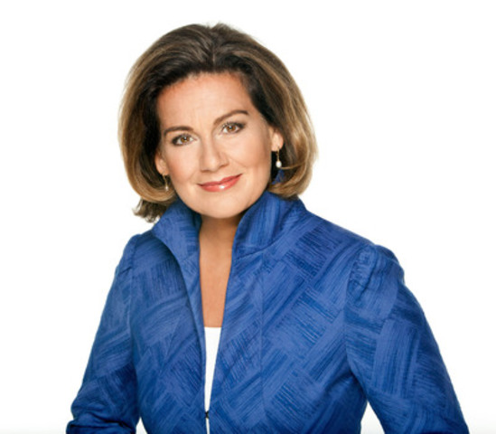 Lisa LaFlamme, Chief Anchor and Senior Editor, CTV News and Co-Host, Opening Ceremony, London 2012 Olympic Games (CNW Group/News - Media) (CNW Group/Bell Media)