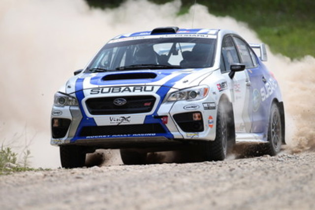 Subaru Canada: SRTC Victory at Rocky Mountain Rally (CNW Group/Subaru Canada Inc.)