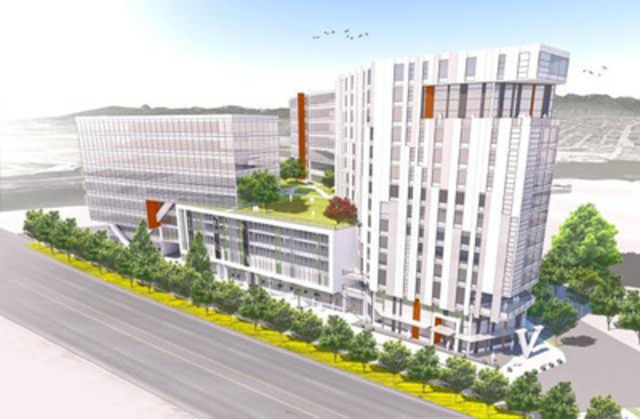 OPUS Hotels selects Canada's rising international hub for newest property (CNW Group/OPUS Hotels)