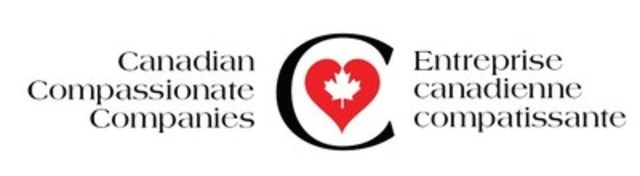 Bilingual Canadian Compassionate Company Logo (CNW Group/Canadian Hospice Palliative Care Association)