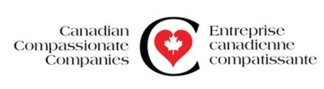 Bilingual Canadian Compassionate Company Logo (CNW Group/Canadian Hospice Palliative Care Association)