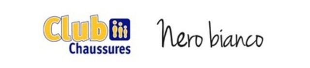 Logos Club Chaussures et Nero Bianco (Groupe CNW/Club Chaussures et Nero Bianco)