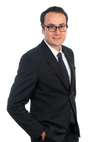 Maxime Kouchnir, upcoming Vice-President of Marketing, effective January 1, 2014. (CNW Group/Corby Spirit and Wine Communications)