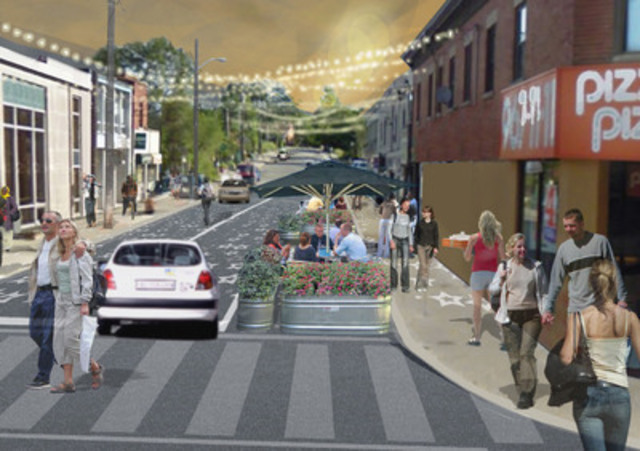A rendering of John St. (CNW Group/Metrolinx)