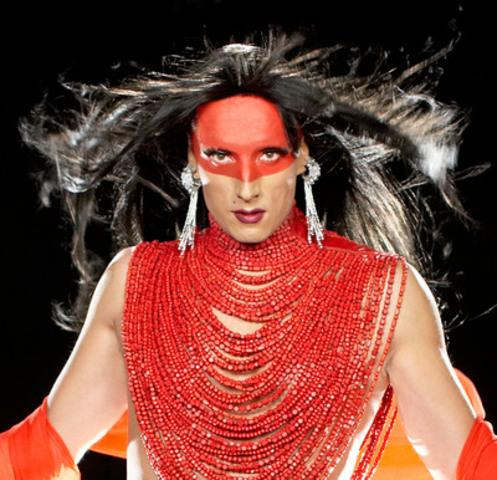 Kent Monkman - Dance to Miss Chief, 2010 - Image tirée d'une monobande vidéo - Avec l'aimable permission de l'artiste (Groupe CNW/Musée d'art contemporain de Montréal)