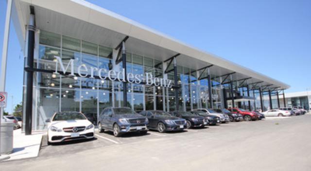 Mercedes-Benz Canada a le plaisir d'annoncer la fin de la construction de Mercedes-Benz Thornhill, son tout nouvel établissement phare de vente au detail (Groupe CNW/Mercedes-Benz Canada Inc.)