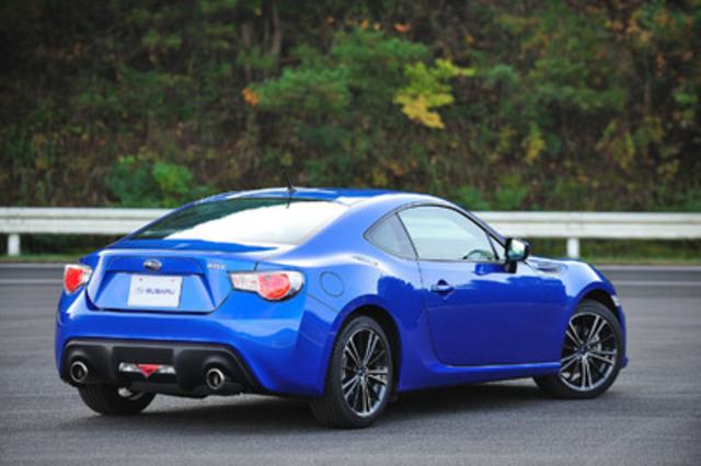 2013 Subaru BRZ. (CNW Group/Subaru Canada Inc.)