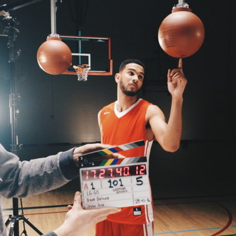Behind the scenes with Cory Joseph and LG Electronics (CNW Group/LG Electronics Canada)