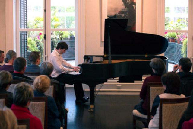 Concert classique au domaine Cataraqui (Groupe CNW/Commission de la capitale nationale du Québec (CCNQ))