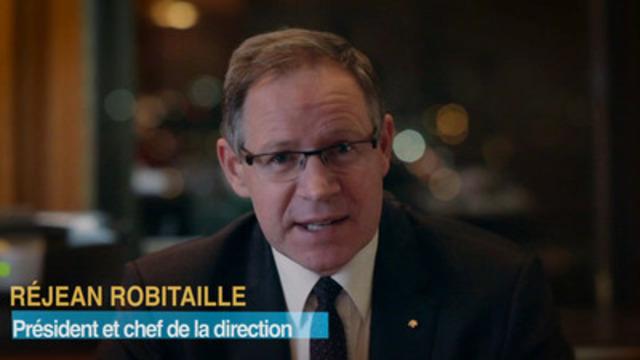 Video: Rapport annuel 2012 de la Banque Laurentienne : visionnez les commentaires de Réjean Robitaille, président et chef de la direction