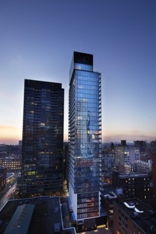 King Charlotte condominium in downtown Toronto (CNW Group/Fortress Real Developments)