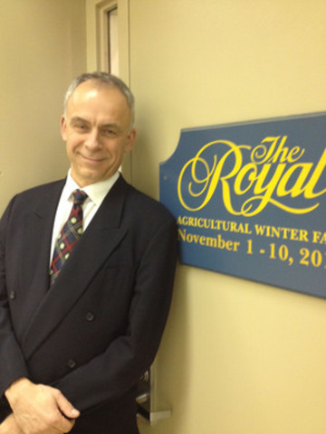 Peter Hohenadel Appointed To Royal Agricultural Winter Fair Staff (CNW Group/The Royal Agricultural Winter Fair)