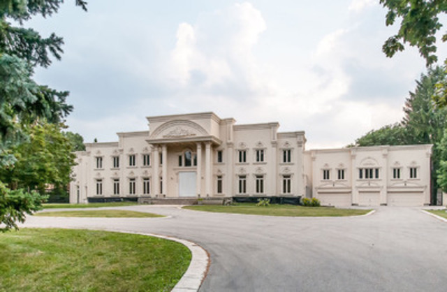 Concierge Auctions Announces That Bidding Is Closed And A Sale Is Pending For The Bridle Path Estate In Toronto, Canada (CNW Group/Concierge Auctions)