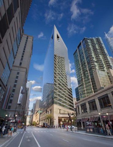 Ivanhoé Cambridge et son partenaire Callahan Capital Properties acquièrent une participation de 40 % dans l'immeuble de bureaux 515 North State à Chicago (Groupe CNW/Ivanhoé Cambridge)