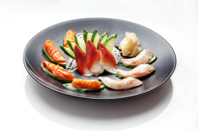 The demand for Clearwater's clam species continues to increase in high-value sushi and sashimi markets throughout the US, Europe and Asia. (CNW Group/Clearwater Seafoods Incorporated)