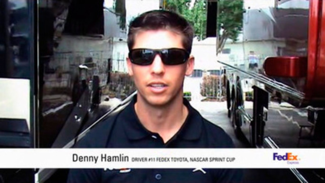 Video: Denny Hamlin invites Canadians to take the Pace Car pledge