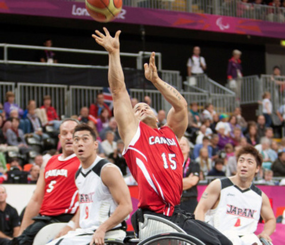 With a pair of berths on the line for the Rio 2016 Paralympic Games, Wheelchair Basketball Canada has selected 24 athletes from the men's and women's national wheelchair basketball teams for nomination to represent Canada at the Toronto 2015 Parapan American Games. (CNW Group/Wheelchair Basketball Canada)