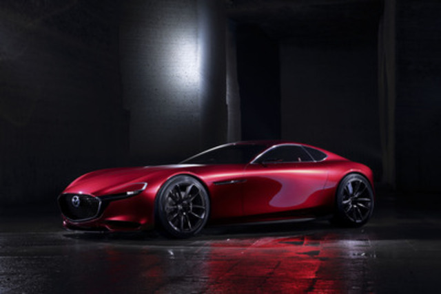 Mazda RX-VISION (Reference Exhibit) (CNW Group/Mazda Canada Inc.)