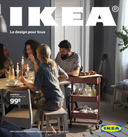 Le nouveau 2017 IKEA catalogue à votre disposition ! (Groupe CNW/IKEA Canada)