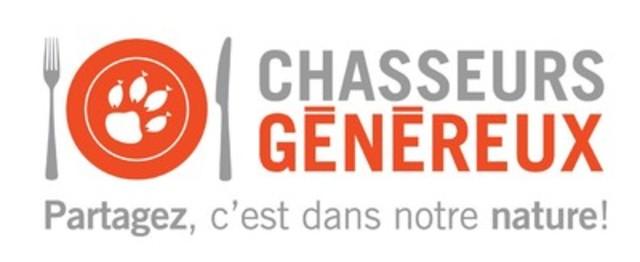 LOGO: Chasseurs Généreux (Groupe CNW/Fédération québécoise des chasseurs et pêcheurs)