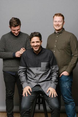 Bench Co-Founders, Adam Saint, Jordan Menashy and Ian Crosby (CNW Group/Bench)