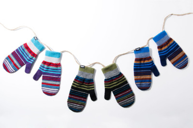 Paul Smith mittens for Movember, available at Holt Renfrew, $50 (CNW Group/Holt Renfrew)