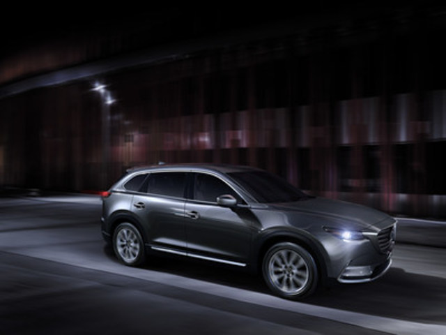 All-new Mazda CX-9 (North American specification) (CNW Group/Mazda Canada Inc.)