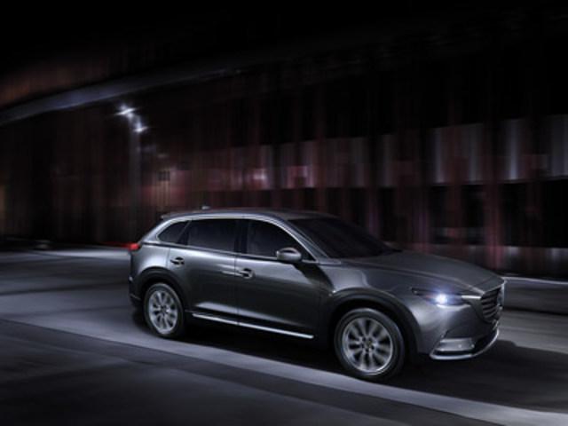 All-new Mazda CX-9 (North American specification) (CNW Group/Mazda Canada Inc.)