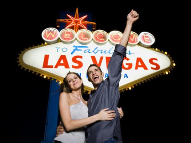 Les Canadiens ne semblent pas pouvoir résister à Las Vegas puisque la ville est de plus en plus populaire. (Groupe CNW/Hotels.com)