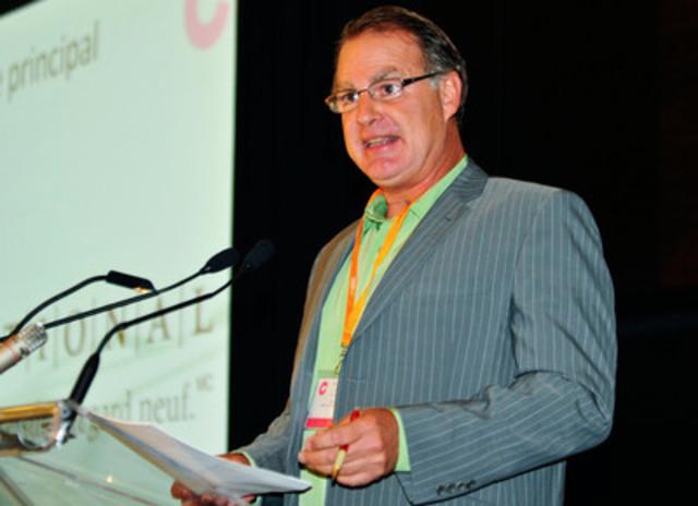 Philippe Bélisle, Maître de cérémonie (Groupe CNW/C, LE COLLOQUE ANNUEL DE LA SQPRP PAR LES JEUNES PROFESSIONNELS)