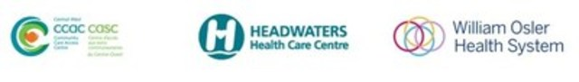 CCAC; Headwaters Health Care Centre; William Osler Health System (CNW Group/William Osler Health System)