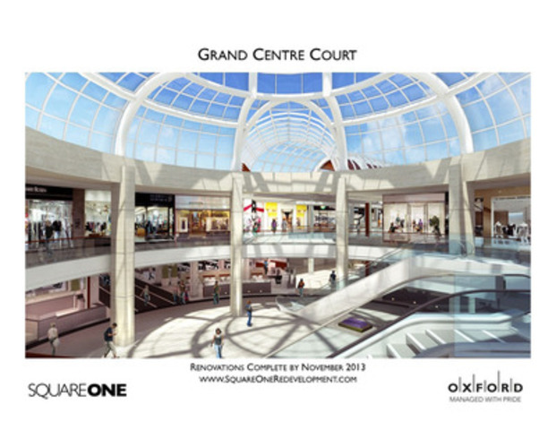 Square One Redevelopment (CNW Group/Square One Shopping Centre)