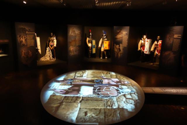 L'exposition Les gladiateurs et le Colisée - Mort et gloire s'arrêtera cet été au Musée canadien de la guerre, une exclusivité en Amérique du Nord. Image gracieuseté de Contemporanea Progretti. (Groupe CNW/Musée canadien de la guerre)