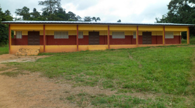 New Agbaou Primary School (CNW Group/Endeavour Mining Corporation)