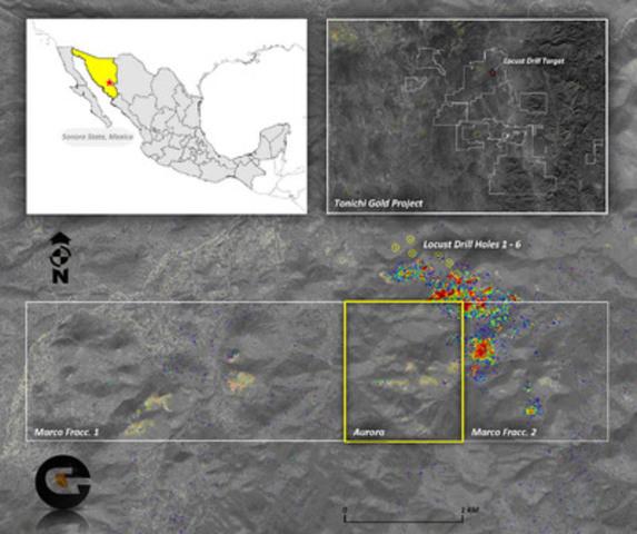 Tonichi Gold Project (CNW Group/Garibaldi Resources Corp.)