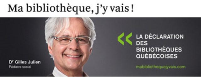 Dr Julien (Groupe CNW/Table permanente de concertation des bibliothèques québécoises)