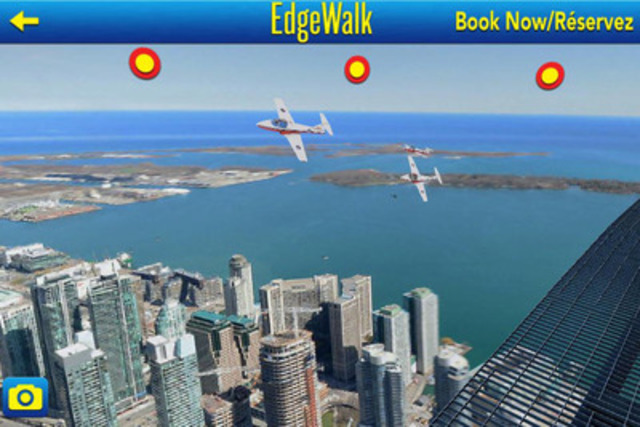 CN Tower Edgewalk AR Experience. (CNW Group/Astral Media Inc.)