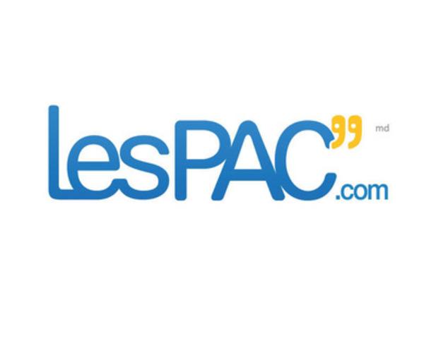 Le logo de LesPAC.com (Groupe CNW/LesPAC.com)