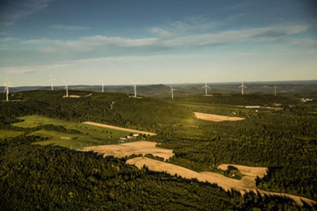 Parc éolien communautaire Frampton (Groupe CNW/Boralex inc.)
