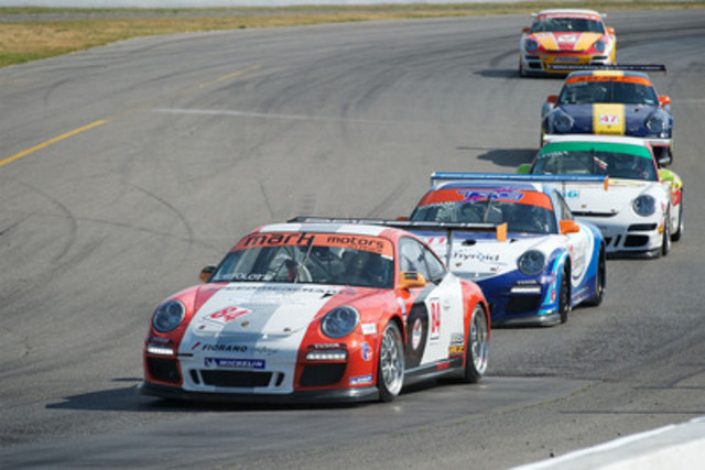 Porsche Canada today announced the 2012 schedule for the Porsche GT3 Cup Challenge Canada series, North America's fastest growing single-make racing series. The GT3 Cup Challenge Canada grows from six to nine races and adds two new venues. (CNW Group/Porsche Canada)