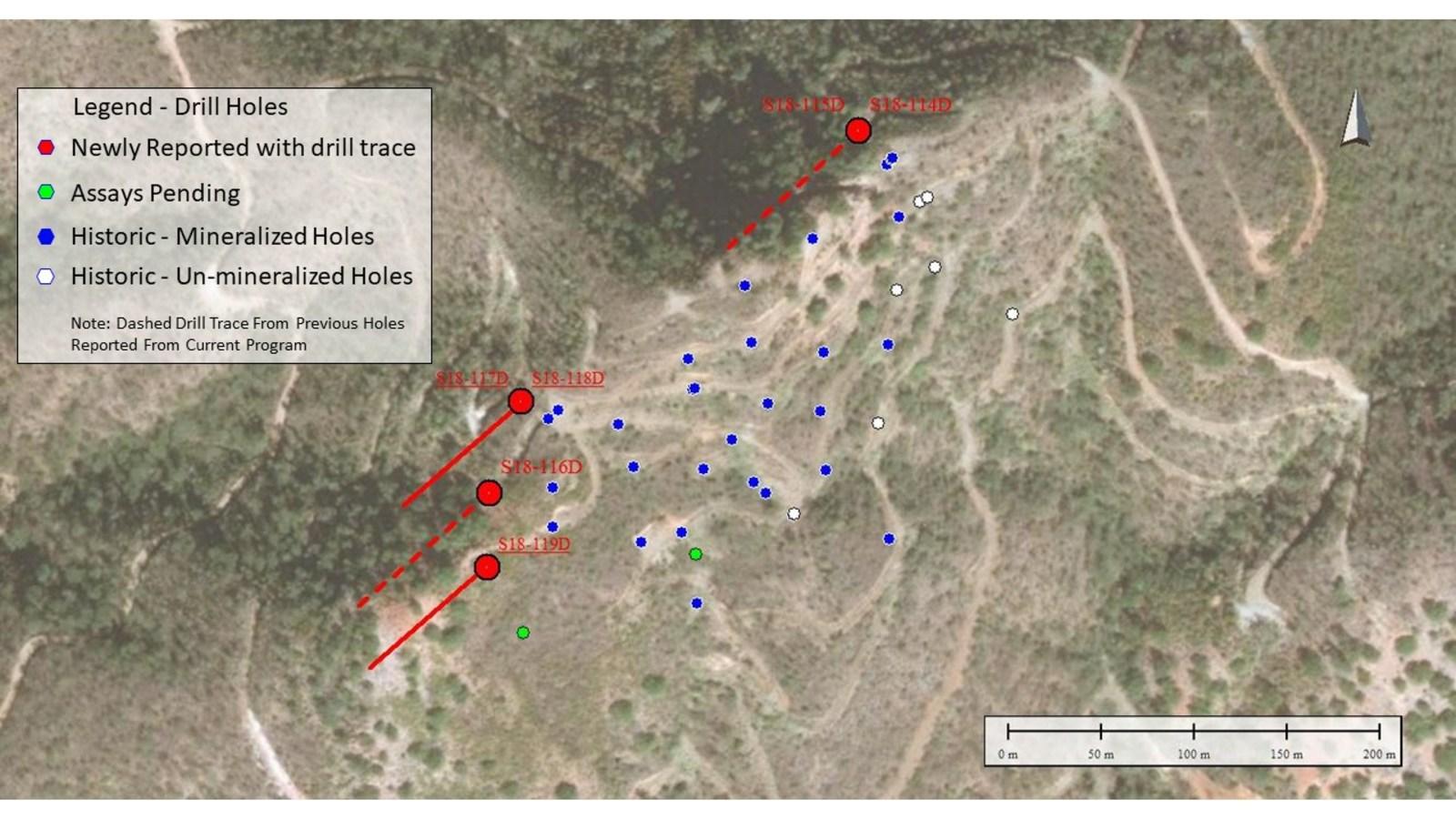 Figure 1 - Drill Location Plan