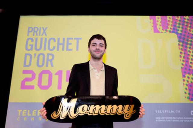 Xavier Dolan, réalisateur et scénariste, Mommy (Groupe CNW/Téléfilm Canada)
