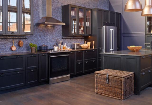 Nouvelle cuisine IKEA SEKTION conçue pour Scott McGillivray à la House of Kitchens d'IKEA  (Groupe CNW/IKEA Canada)
