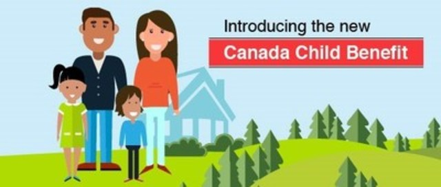 New Canada Child Benefit supports millions of families (CNW Group/Employment and Social Development Canada)