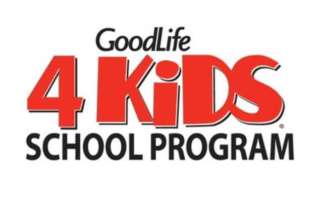 GoodLife4Kids School Program infuses classes with yoga, dance, and fitness skills at no cost to schools (CNW Group/GoodLife Kids Foundation)