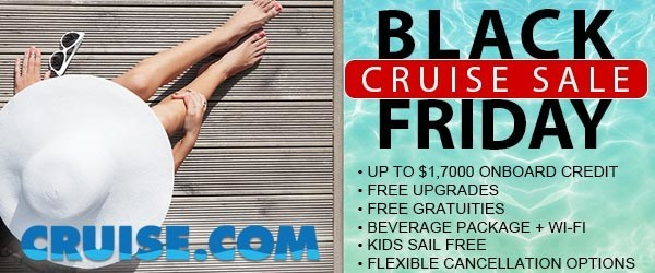 Cruise.com Announces Its Spectacular Black Friday Sale  (November 2020)
